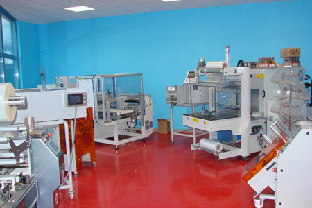 Showroom machines de conditionnement