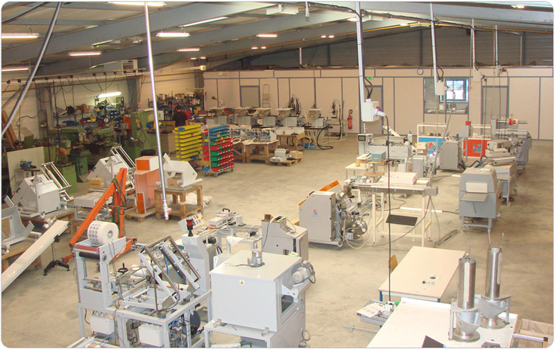 Machines d'assemblage et conditionnement / Packaging and screwing machines